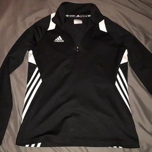 Adidas 3/4 zip jacket